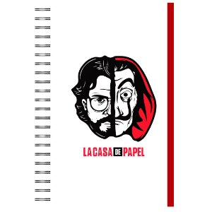 Caderno A5 : La Casa de Papel
