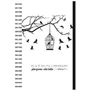 Caderno A5 : Liberdade