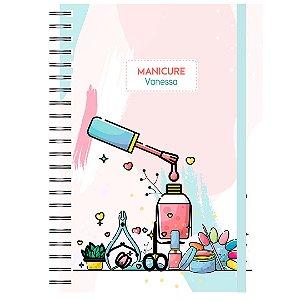 Caderno A5 : Manicure