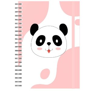 Planner Permanente : Panda Rosa
