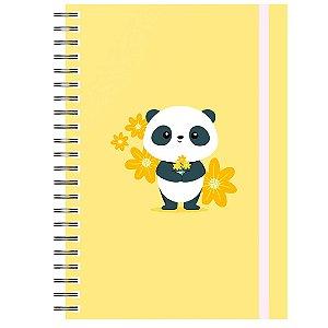 Planner Permanente : Panda Amarelo