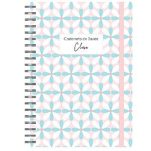 Caderneta de Saúde - Flores com Fundo