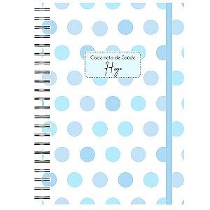Caderneta de Saúde - Paleta de Azul