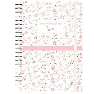 Caderneta de Saúde - Flor com Detalhes