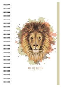 Planner Devocional: Leão Cor Terra