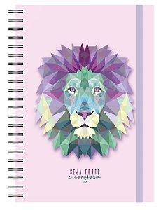 Planner Devocional: Leão Lilás
