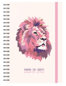 Planner Devocional: Leão Rosa