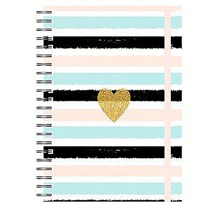 Planner Permanente :  Listras Coração