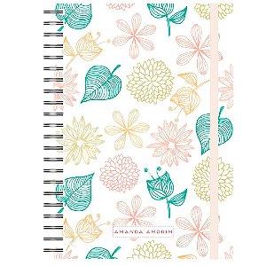 Caderno A5 : Flores Verão