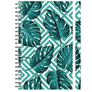 Caderno A5 : Tropical Verde