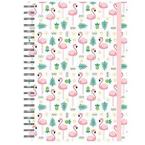 Caderno A5 : Flamingos