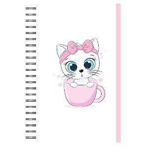 Caderno A5 : Gatinha