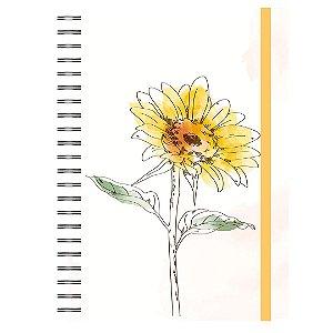 Caderno A5 : Girassol