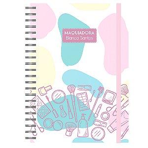 Caderno A5 : Maquiadora