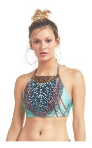 Cropped Halter Avulso Marrakesh Localizado Indígena - New Beach
