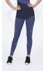 Legging Alto Giro Body Tex Breeze Recortes Power Grafite Est