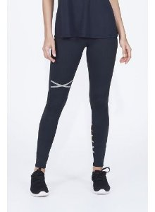 Legging Alto Giro Athletic Challenge Preta