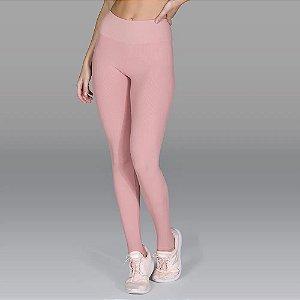 Calça Legging Fuseau Canelada Com Pezinho Ballet De Chelles