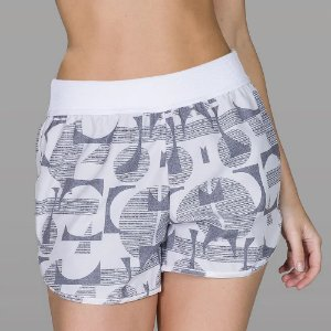 Short Estilo Boxer Estampado Air De Chelles