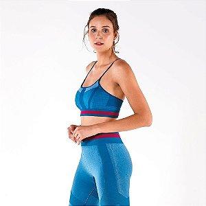 Top Alto Giro Sem Costura Emana Faixa Cós 2111537