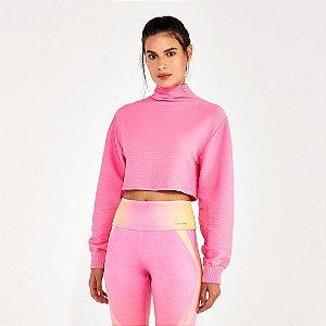 Blusa Cropped Alto Giro Biodegradável Sem Costura 2112934