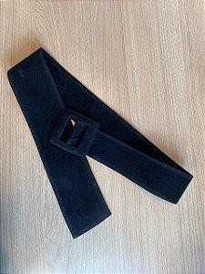 Cinto couro eco preto
