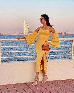 Vestido Rafa Amarelo