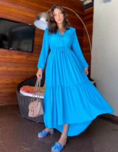 Vestido Isabel Ocean