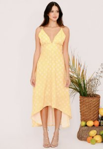 Vestido Sandra Amarelo