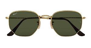 Óculos de Sol Ray-Ban Hexagonal Flat Lenses - Ouro