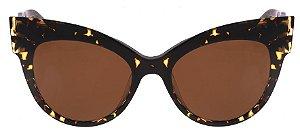 Óculos Max Mara Anita Havana Marrom Original