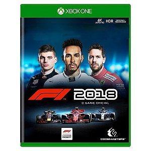 F1 2018 Seminovo - Xbox One