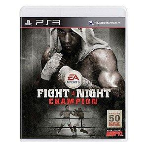 Fight Night: Champion Seminovo - PS3