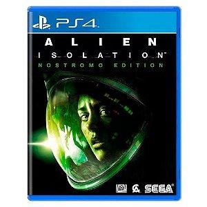Alien Isolation: Nostromo Edition Seminovo - PS4