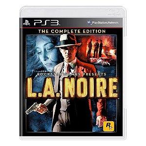 L.A. Noire (The Complete Edition) Seminovo - PS3