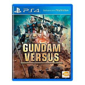 Gundam Versus Seminovo - PS4