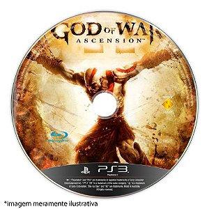 God of War: Ascension Seminovo (SEM CAPA) - PS3