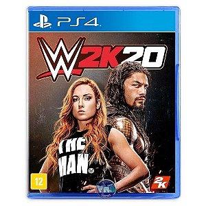 WWE 2K20 Seminovo - PS4