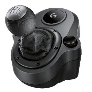 Câmbio Logitech G Driving Force - Compatível com Volantes Logitech G29 e G920 para PS4, Xbox One e PC