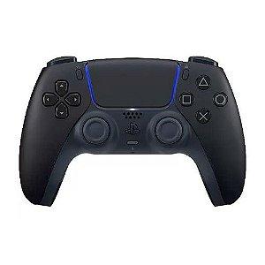 Controle para PS5 sem Fio DualSense Sony - Midnight Black