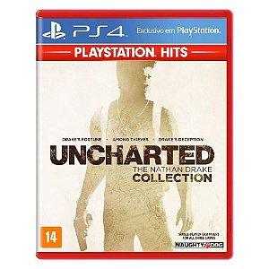 Uncharted: The Nathan Drake Collection Seminovo (Inglês) - PS4