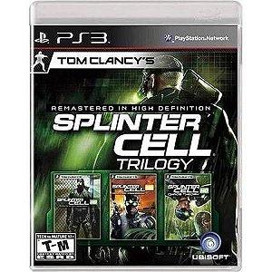 Splinter Cell Trilogy Seminovo – PS3