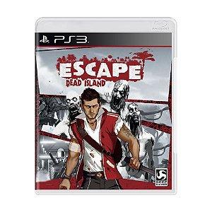 Escape Dead Island Seminovo - PS3