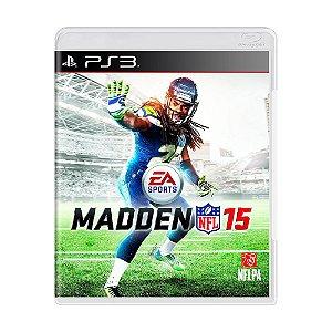 Madden NFL 15 Seminovo - PS3