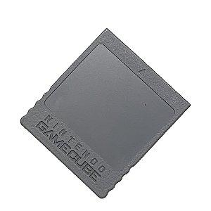 Memory Card Original Cinza Seminovo - Gamecube