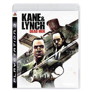 Kane & Lynch: Dead Men Seminovo - PS3