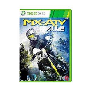 MX vs ATV Alive Seminovo - Xbox 360