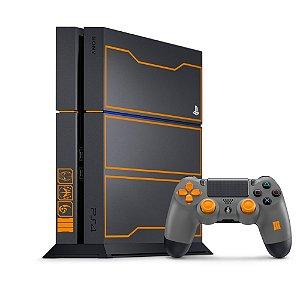 Console PlayStation 4 Fat 500GB Edição Limitada Call of Duty Black Ops 3 Seminovo - Sony