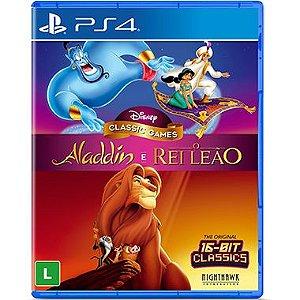 Disney Classic Games Aladdin e O Rei Leão - PS4