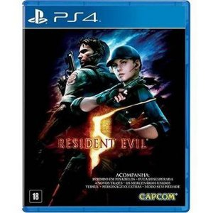 Resident Evil 5 Seminovo – PS4